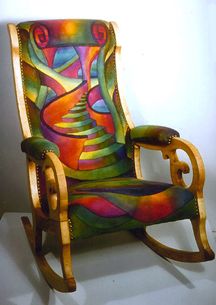 Storytellers Cathedra Felt Chair