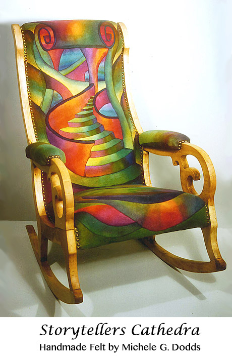 Felt Art Chair