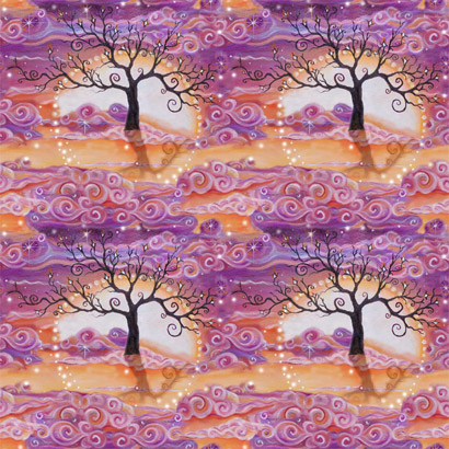 Tree of Light Fabric