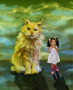 Cat and Girl Image Thumb