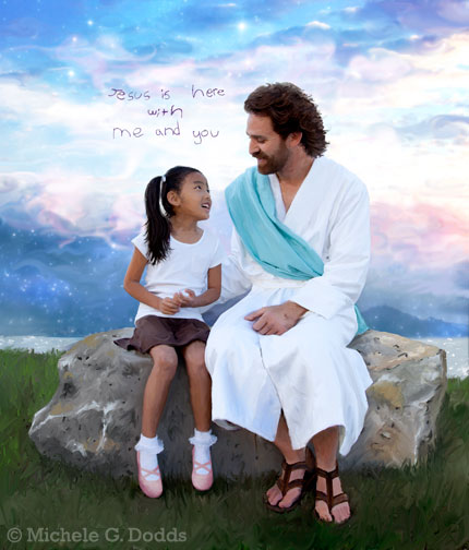 Talking with Jesus Image