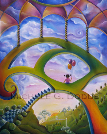 Canopy Skywalk Painting