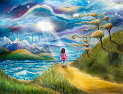 Windy Way Painting